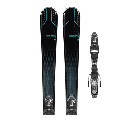 ROSSIGNOL - EXPERIENCE 80 CIW XP + XP W11 GW - Pack skis all-mountain + Fixations Femme