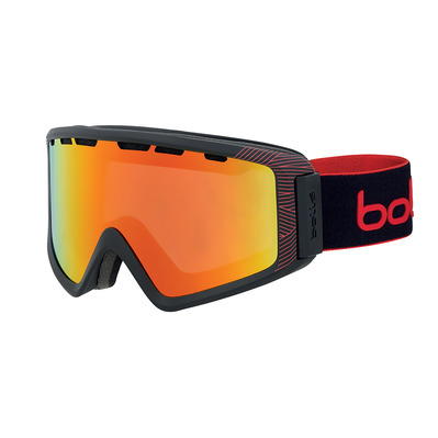 BOLLE - Z5 OTG Black Red Matte Sunrise Cat 2 Unisexe Noir