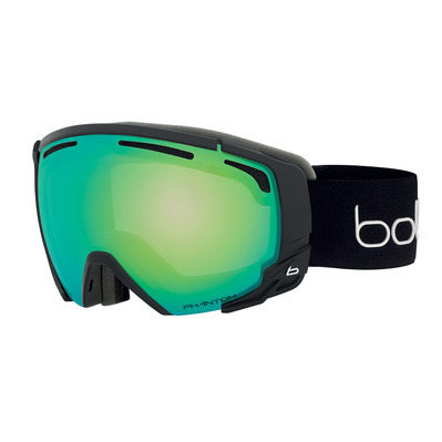 BOLLE - SUPREME OTG Black Corp Matte Phantom Green Emerald Cat 1-3 Unisexe Noir