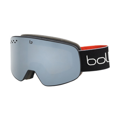BOLLE - NEVADA BLACK RED MATTE BlackChrome cat 3 Unisexe BLACK RED MATTE