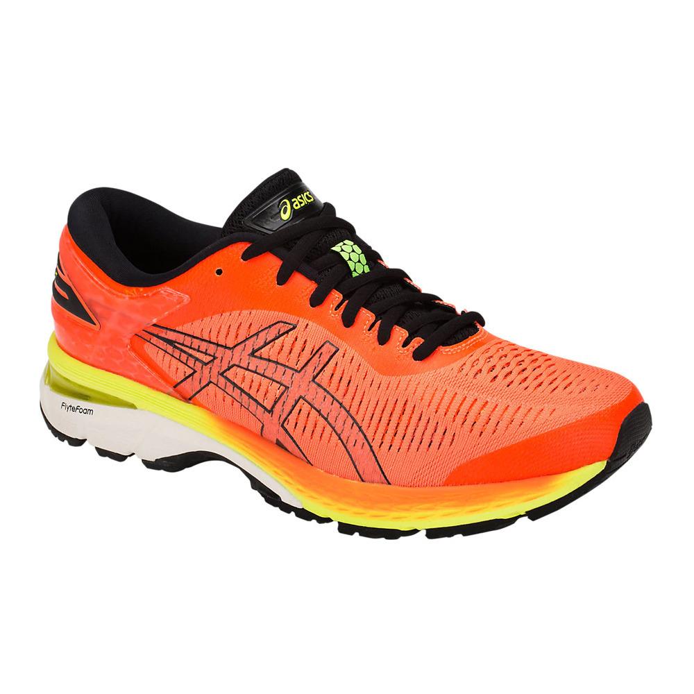 ASICS Asics GEL-KAYANO 25 - Chaussures running Homme orange/black ...