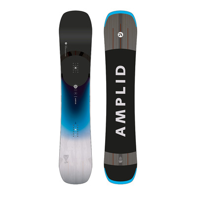 AMPLID - PARADIGMA 19/20 - All Mountain Snowboard - blue/white/black