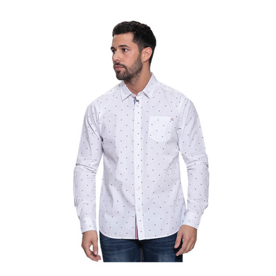 WILDSTREAM - DROOL - Camisa hombre white