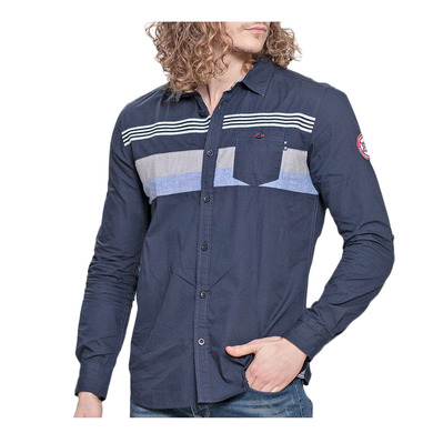 WILDSTREAM - DRENCH - Camisa hombre navy