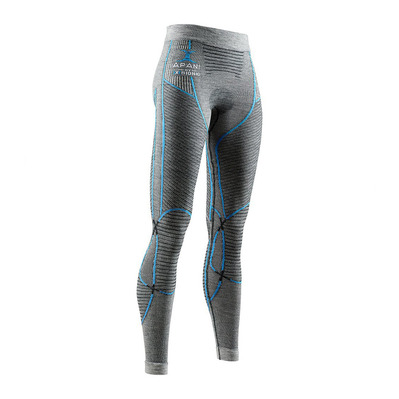 X-BIONIC - APANI MERINO P W - Tight - Women's - black/grey/turquoise