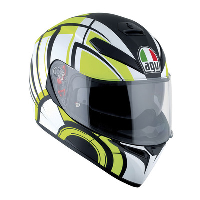 AGV - K-3 SV MULTI - Casco integrale avior matt white/lime