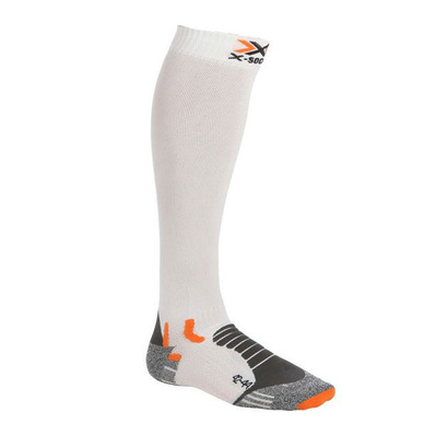 XSOCKS - X-Socks CROSS COMPRESSION - Calze bianco/antracite
