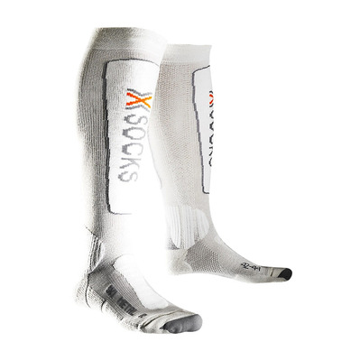 XSOCKS - X-Socks SKI METAL - Calze grey/white