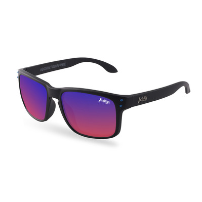THE INDIAN FACE - FREERIDE SPIRIT - Polarised Sunglasses - black/red revo