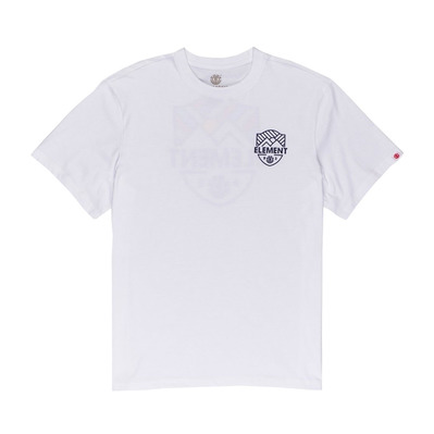 ELEMENT - BEAMING SS Homme OPTIC WHITE