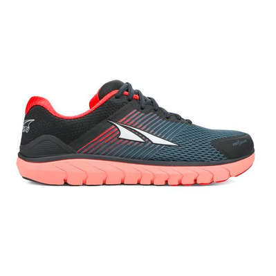 ALTRA - PROVISION 4 - Chaussures running Femme black/coral/pink