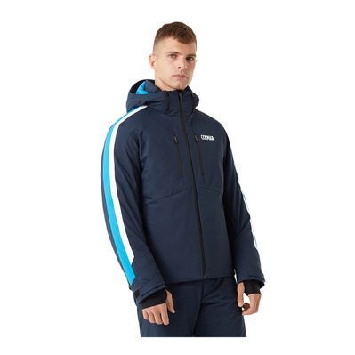 COLMAR - M. DOWN SKI JACKET Homme BLUE BLACK-PEACOCK-W1063-1VC-167