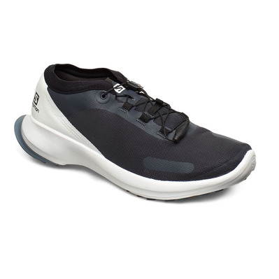 SALOMON - SENSE FEEL - Scarpe da trail Uomo india ink/white/flint stone