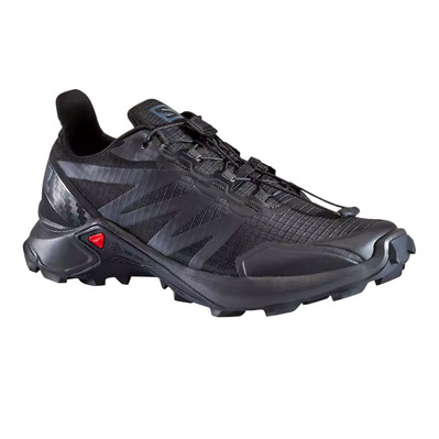 SALOMON - SUPERCROSS - Zapatillas de trail mujer black/black/black