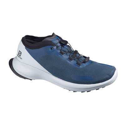 SALOMON - SENSE FEEL - Zapatillas de trail hombre dark denim/pearl blue/black