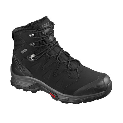 SALOMON - QUEST WINTER GTX - Zapatillas de senderismo hombre black/ebony/black
