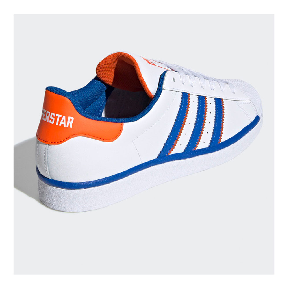 ADIDAS ORIGINALS Adidas SUPERSTAR - Trainers - Men's - wht/blue ...