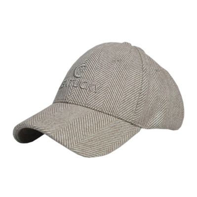 KENTUCKY - WOOL - Casquette Baseball beige