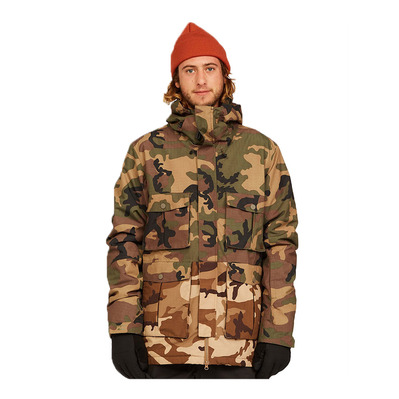 BILLABONG - ADVERSARY - Veste Homme woodland camo