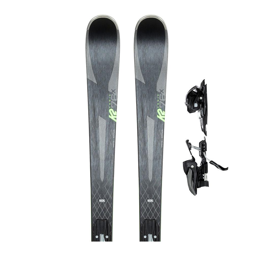 K2 All Mountain Herren Ski Konic 76 TI M3 10 Compact Quickclick
