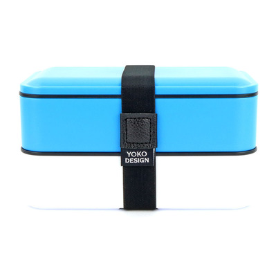 YOKO DESIGN - 1388 - Lunch Box 2 bandejas 1.2L blue