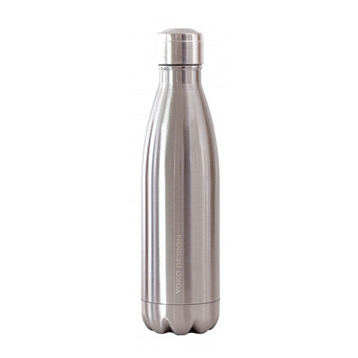 YOKO DESIGN - BRILLANT - Bottiglia isotermica 500ml inox