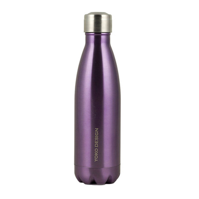 YOKO DESIGN - BRILLANT - Termo 500ml purple metal