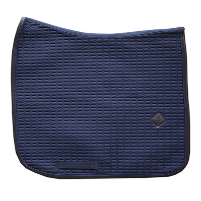 KENTUCKY - Tapis color edition cuir dressage marine Unisexe marine