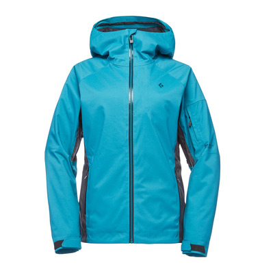 BLACK DIAMOND - BOUNDARY LINE INSULATED - Giacca Donna aqua verde/anthracite