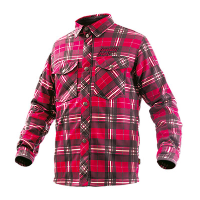 ENERGIAPURA - SCOTLAND - Camisa junior quadro red