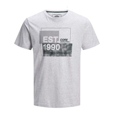 JACK & JONES - MALE JCOSTAR - Tee-shirt Homme white melange