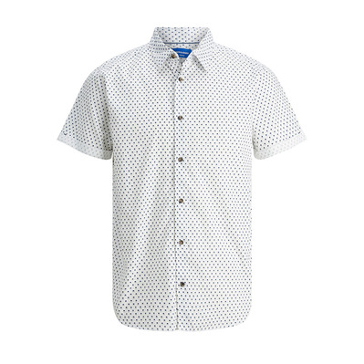 JACK & JONES - MALE JORDUDE - Chemise Homme cloud dancer