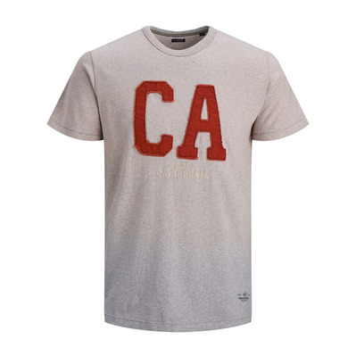 JACK & JONES - BS000086 - Camiseta hombre light grey melange