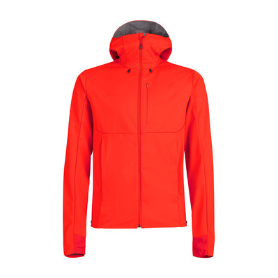 MAMMUT - ULTIMATE V S - Jacket - Men's - spicy/titanium marl
