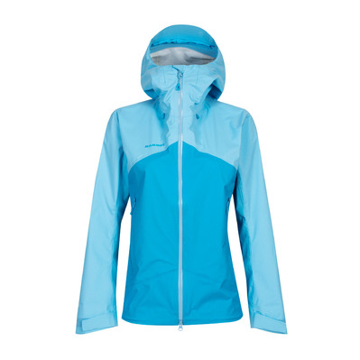 MAMMUT - KENTO HS - Jacket - Women's - ocean/whisper