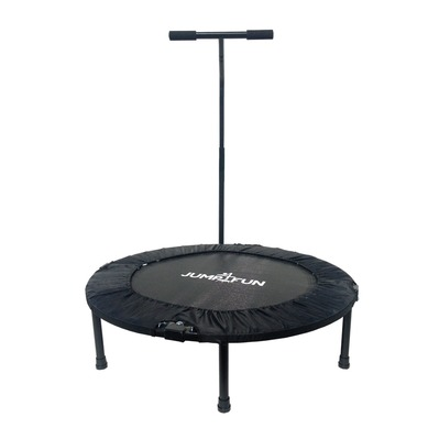 JUMP4FUN - T-BAR 92cm - Mini tappeto elastico fitness nero