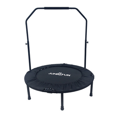 JUMP4FUN - DOUBLE-BAR 92cm - Mini tappeto elastico fitness nero
