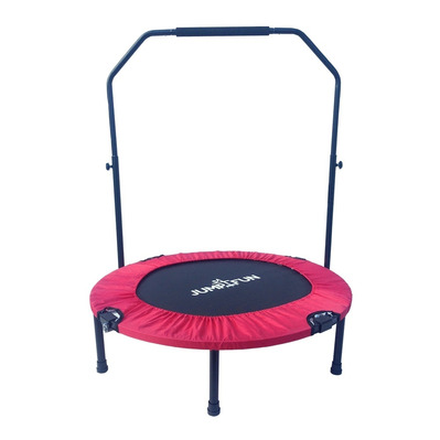 JUMP4FUN - DOUBLE-BAR 92cm - Mini tappeto elastico fitness rosso