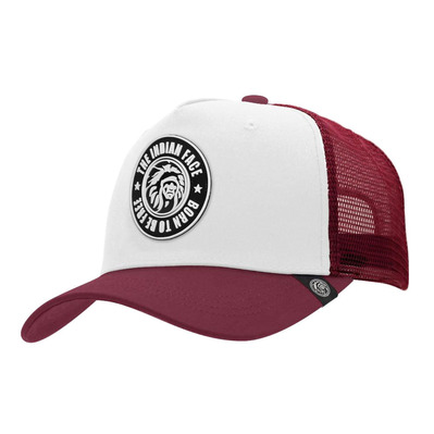 THE INDIAN FACE - BORN TO BE FREE - Cap - white/red