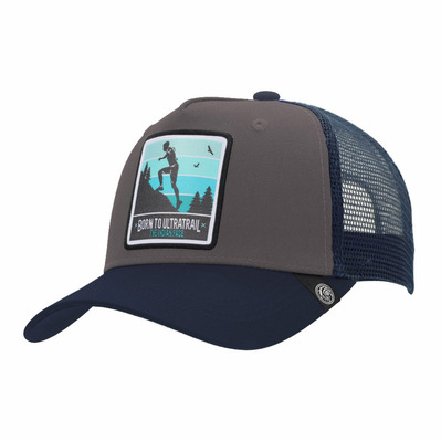 THE INDIAN FACE - BORN TO ULTRATRAIL - Casquette grey/blue