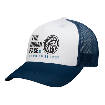 THE INDIAN FACE - FREE SOUL - Casquette white/blue