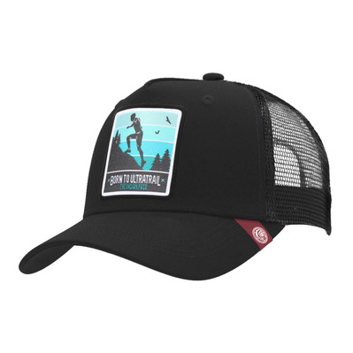 THE INDIAN FACE - BORN TO ULTRATRAIL - Cap - black