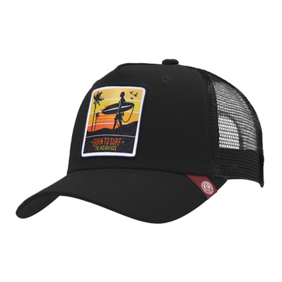 THE INDIAN FACE - BORN TO SURF - Cap - black