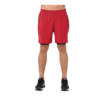 ASICS - 2-N-1 7IN - Short Uomo mp classic red
