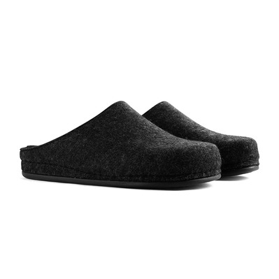 TRAVELIN' - BE-HOME - Slippers - Men's - dark grey