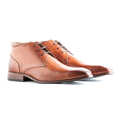 TRAVELIN' - GATWICK LEATHER - Shoes - Men's - cognac