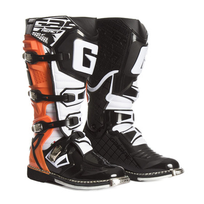 GAERNE - G.REACT GOODYEAR - Botas off-road hombre orange fluo