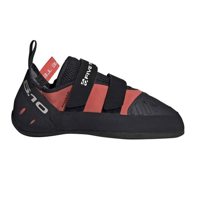 FIVE TEN - ANASAZI LV PRO W - Chaussons d'escalade Femme eascor/cblack/red
