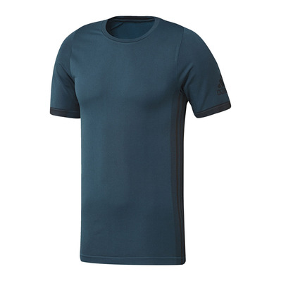 ADIDAS - FREELIFT PK - Camiseta hombre tecmin/black