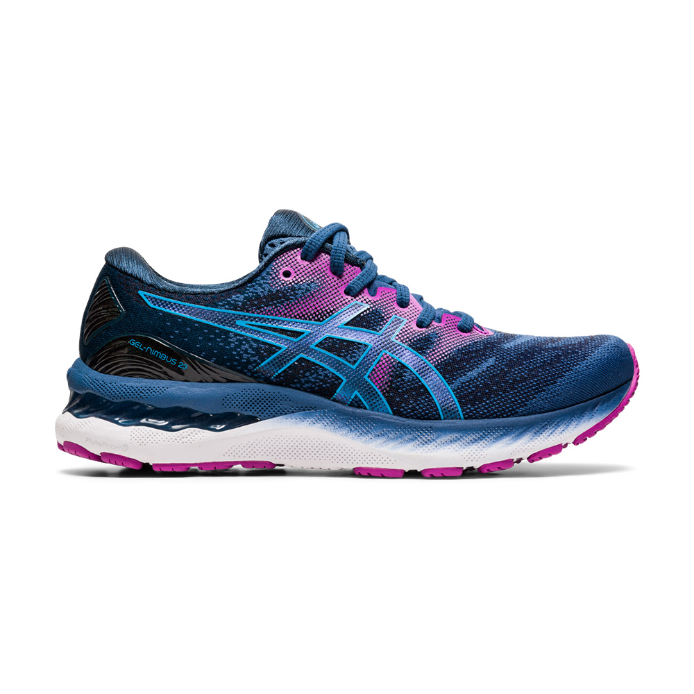 ASICS - Asics GEL-NIMBUS 23 - Zapatillas de running mujer grand shark/digital aqua
